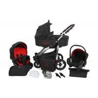 Kinderwagen Set 3 in 1 inkl. Babyschale / Autositz