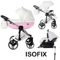 Pushchairs 4 in1 incl. Baby Seat + ISOFIX