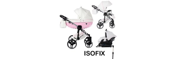 Kinderwagen Set 4 in 1 inkl. Babyschale + ISOFIX