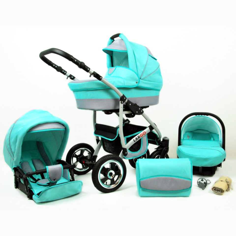 Larmax 3in1 Kinderwagen