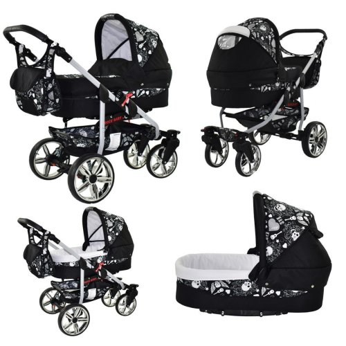 Matrix Rock Baby 3 in 1 combi pram pushchair stroller complete set with car seat