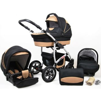 Larmax 3 in 1 combi pram pushchair stroller complete set...