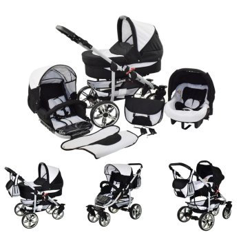 Matrix II 3 in 1 combi pram pushchair stroller complete set with car seat