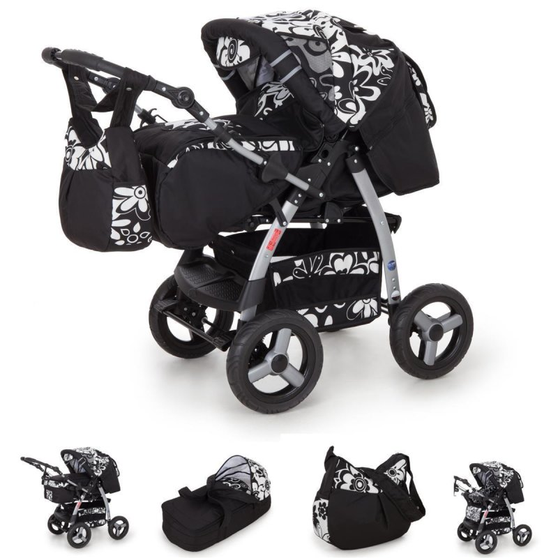 kinderwagen icaddy autositz gt silver snowleopard mit. Black Bedroom Furniture Sets. Home Design Ideas