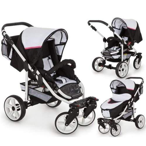 Matrix GO 3 in 1 combi pram pushchair stroller complete set with car seat