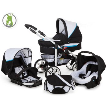 Matrix GO 3 in 1 combi pram pushchair stroller complete...
