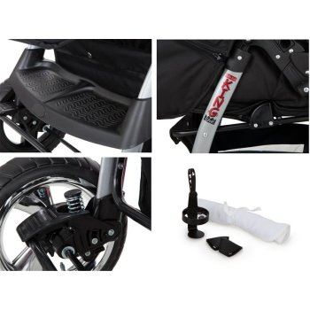 King 2 in 1 combi pram pushchair stroller