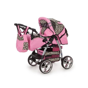 Lux4kids King 3 in 1 combi pram pushchair stroller...