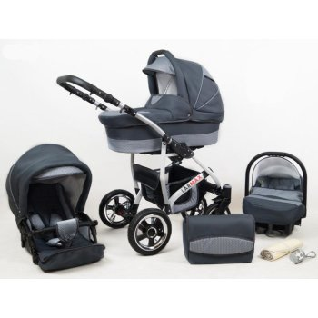 Lux4kids 3in1 Stroller Pram Buggy Car seat All in one...