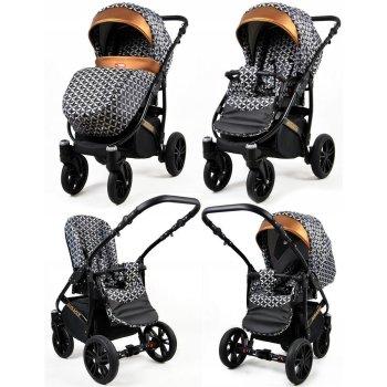 Lux4Kids Kinderwagen BlackOne