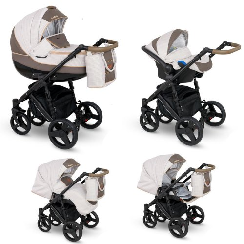 Lux4Kids Stroller Pram 2in1 3in1 Isofix Car seat 12 colours Free Accessories NEO