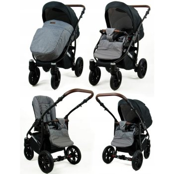 Lux4Kids Stroller 3in1 Optimum Travelsystem 2in1 Buggy...