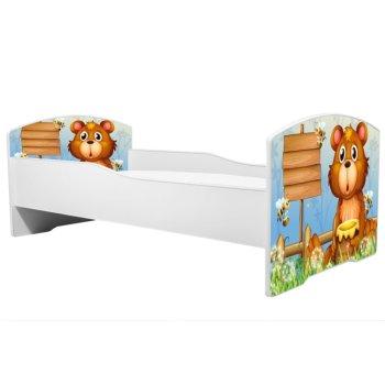 Angelbeds Kinderbett 32 Motive Holz Flex Lattenrost Schaummatratze Rausfallschutz Bettschublade 160 X 80