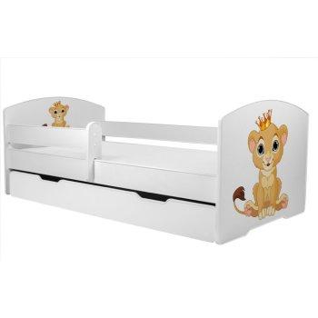 Angelbeds Kinderbett 32 Motive Holz Flex Lattenrost Schaummatratze Rausfallschutz Bettschublade 160 X 80 Luk2
