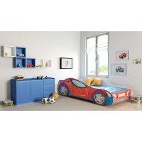 Angelbeds Kinderbett Autobett  8 Motive Flex Lattenrost Matratze 160 X 80