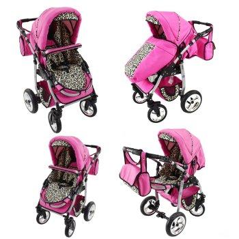 Lux4Kids Kinderwagen Dino
