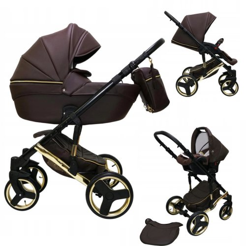 Stroller Pram Pushchair Isofix Car seat DIN EN 1888 Comodo G by Ferriley & Fitz