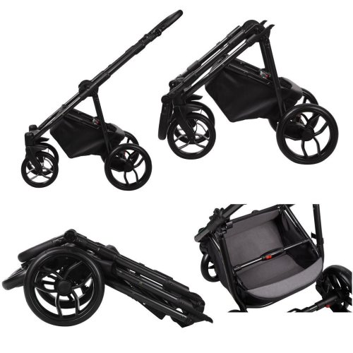 Kinderwagen 3in1 Isofix Buggy Autositz DIN EN 1888 La Noche by Ferriley & Fitz