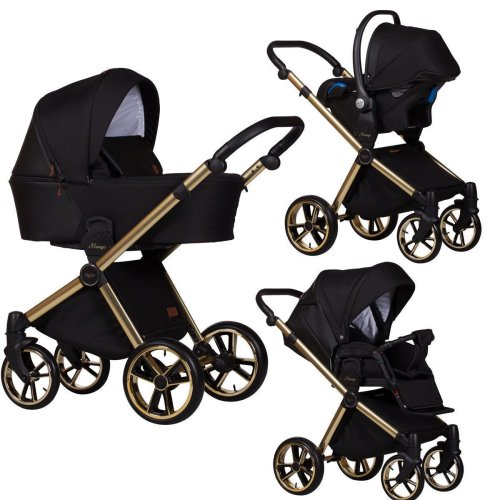 Travel System 3in1 Isofix Buggy Pram Carrycot Mango Limited by Ferriley & Fitz