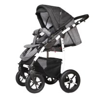 Travel System 3in1 Isofix Buggy Pram Carrycot Pushchair Q9 by ChillyKids