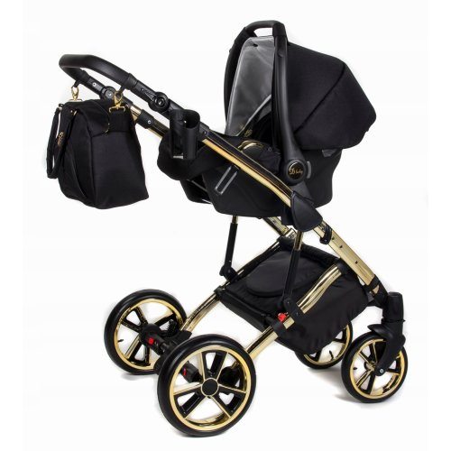 stroller travel system pram 3 in1 combo set with car seat choice Buggy isofix Daytona GT by Chillykids