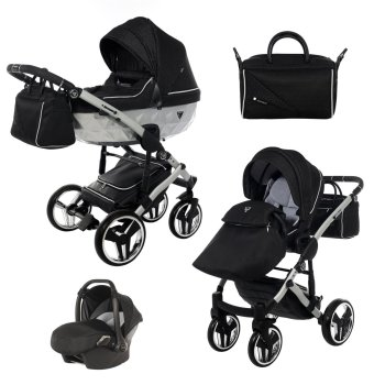 Junama Kinderwagen Mirror Satin by Ferriley & Fitz
