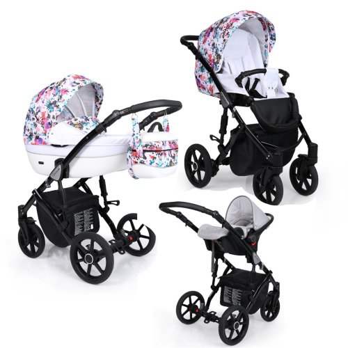 Lavado Black Isofix Buggy 3in1 2in1 all in one by Lux4kids
