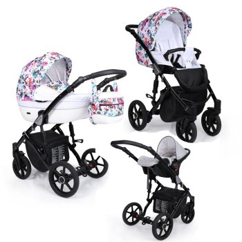 Kinderwagen Lavado Black  by Lux4kids