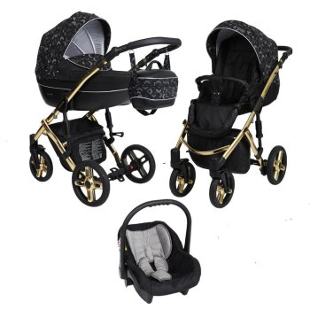 Kinderwagen Lavado Premium Gold by ChillyKids