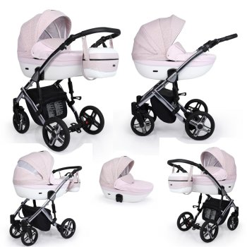 Stroller 3in1 2in1 Isofix pram set + accessories Color...