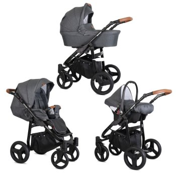 Rotax Black pram by ChillyKids