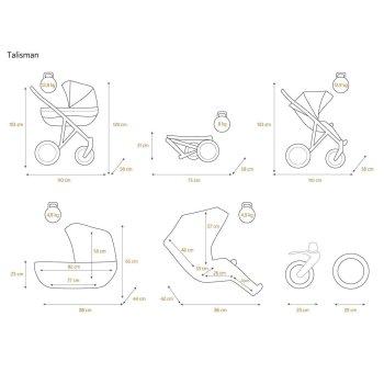 Kinderwagen Talisman by ChillyKids