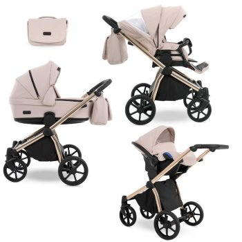 Stroller all in one 3in1 2in1 set Isofix Previo by Lux4kids