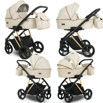 Stroller 3in1 Isofix baby seat Buggy Faro by Lux4Kids