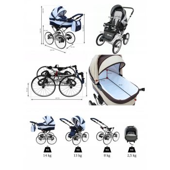 Lux4Kids Classico Retro Kinderwagen