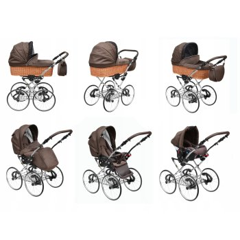 Poussette rétro Lux4Kids Nature One Pro