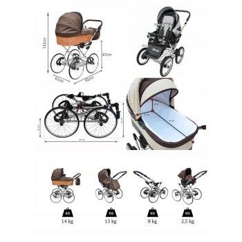 Lux4Kids Retro Kinderwagen Nature One Pro
