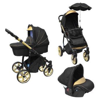 Lux4Kids Kinderwagen Victoria Gold