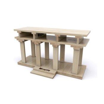 Lux4Kids Maple Holzbausteine Ahorn Naturbelassen