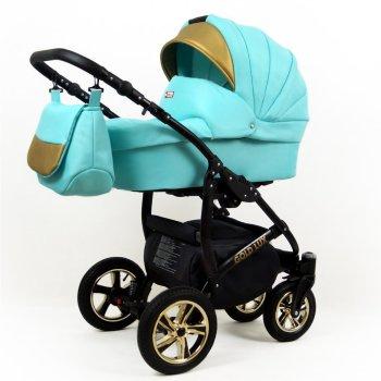 Lux4Kids Golden Glow Black Mint 3in1 mit Autositz