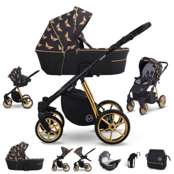 Pram 3in1 2in1 Isofix Only 12,8 Kg Lightweight usable up...