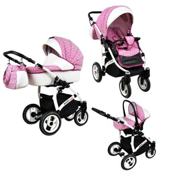 Poussette Lux4Kids Biancino