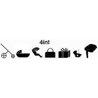 4in1 car seat +Isofix