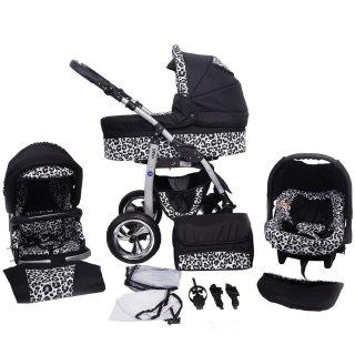 noir & léopard des neiges