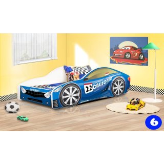 6 Racing Blue